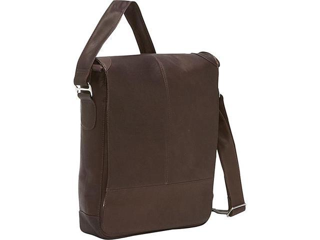 Piel Urban Vertical Laptop Messenger Bag