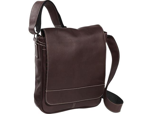 David King & Co. Deluxe Medium Flap Over Messenger