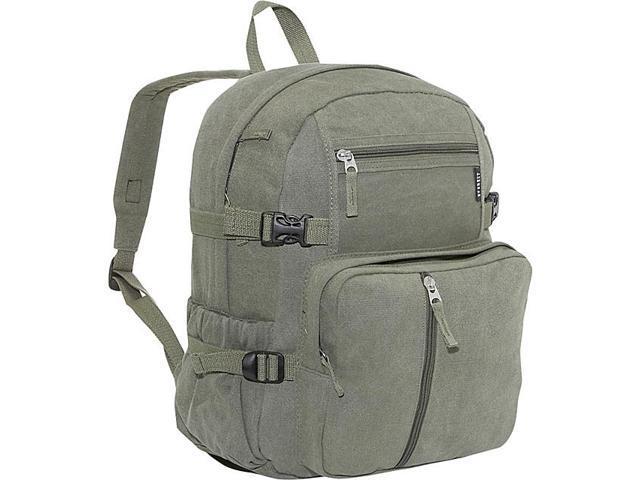Everest Cotton Canvas Medium Backpack