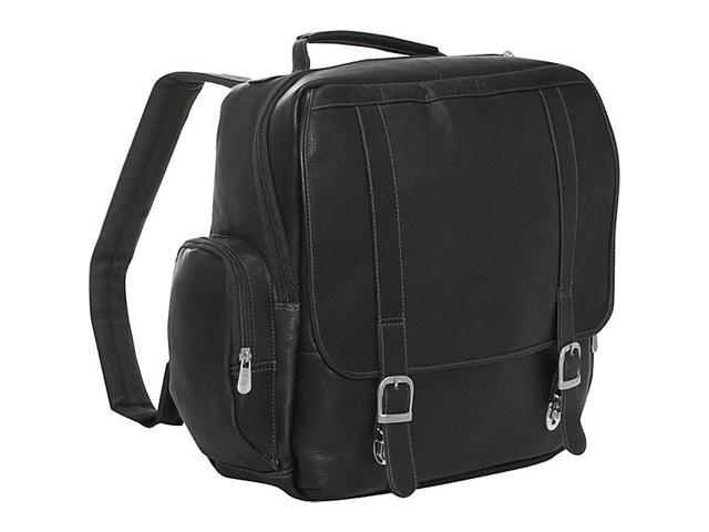 Piel Vertical Leather Laptop Backpack