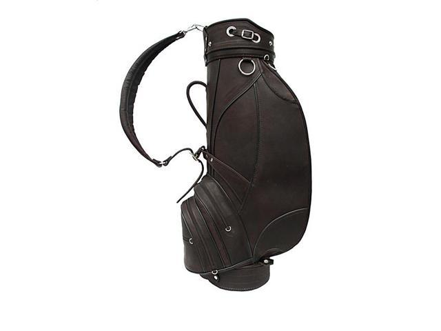Piel Deluxe 9in. Leather Golf Bag