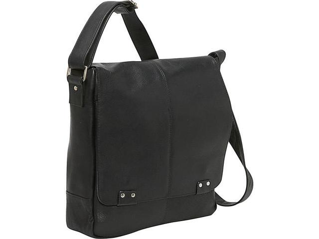 Le Donne Leather Rivet Computer Messenger