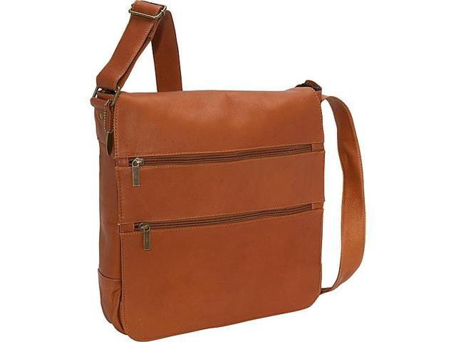 David King & Co. Laptop Messenger w/ 2 Zip Pockets