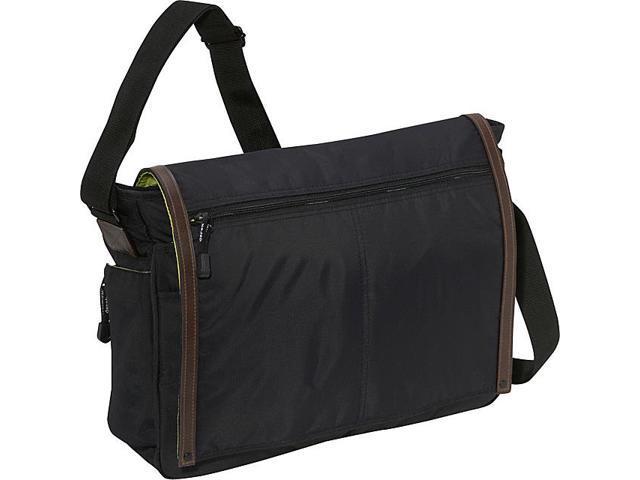 Derek Alexander Full Flap Messenger Bag