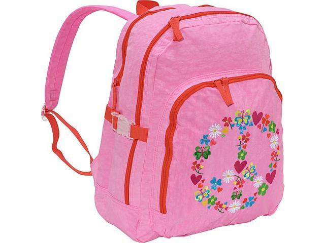 Miquelrius Agatha Ruiz de la Prada Peace & Love Large Pink Backpack
