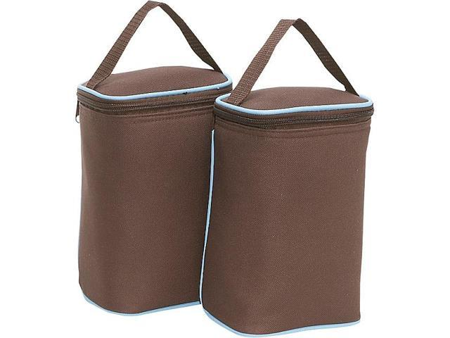 J.L. Childress Tall TwoCOOL 2-Bottle Insulated Tote - Set of 2
