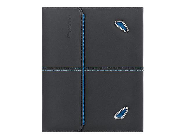 Solo Case For iPad 2 and 3 Blue Microsuede Lining Snap Closure (USLTCC222420)