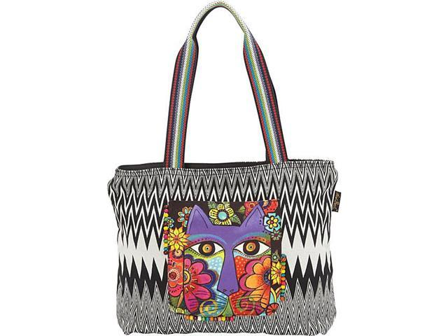 Laurel Burch Blossoming Feline Tote