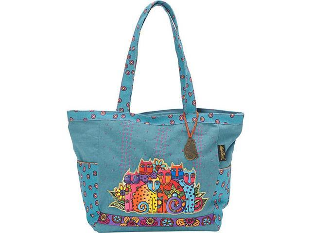 Laurel Burch Feline Clan Tote