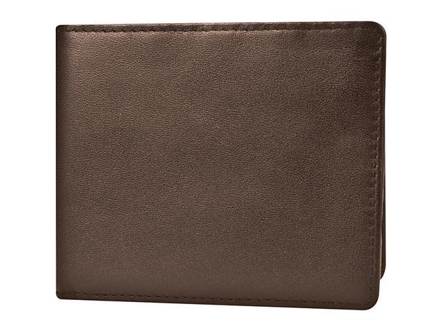 Travelon Safe ID Leather Billfold Wallet