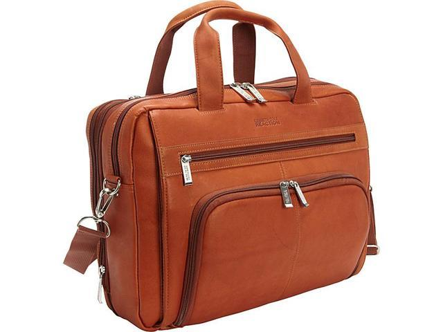 Kenneth Cole Reaction Out Of The Bag - Colombian Leather Expandable Computer Case