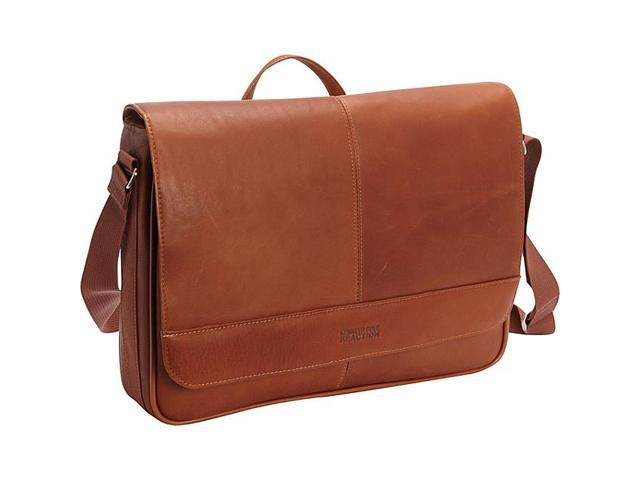 Kenneth Cole Reaction Risky Business - Colombian Leather Messenger Bag