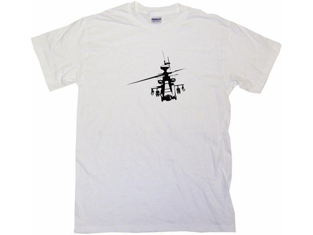 Attack Helicopter Logo Men's Short Sleeve Shirt
