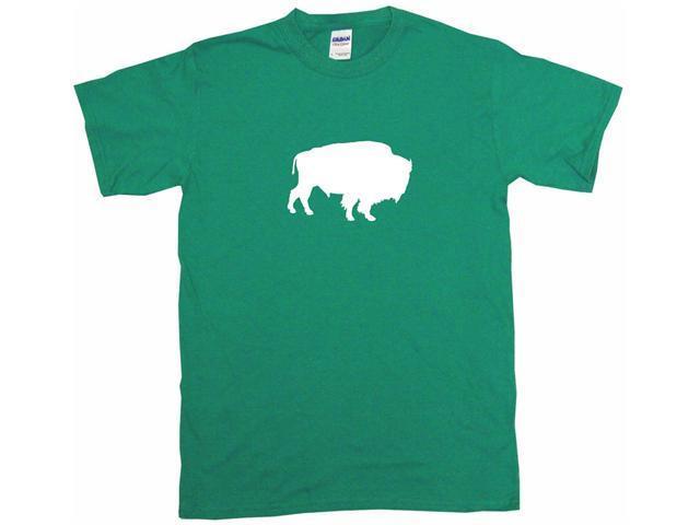 Buffalo Silhouette Logo Men's Short Sleeve Shirt