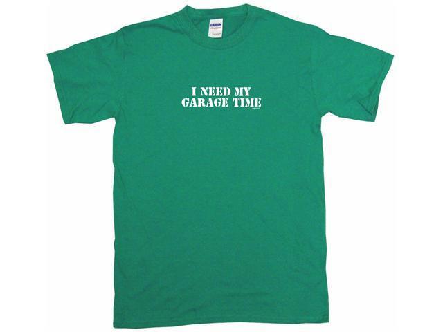 I Need My Garage Time Kids T Shirt