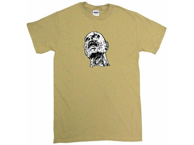 Zombie Face Logo Men's Short Sleeve Shirt
