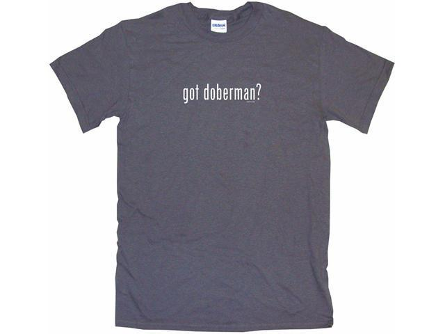got doberman? Men's Short Sleeve Shirt