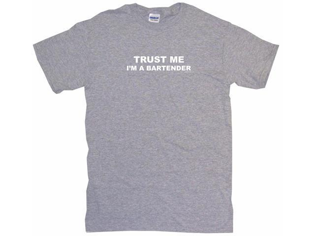 Trust Me I'm The Bartender Men's Short Sleeve Shirt