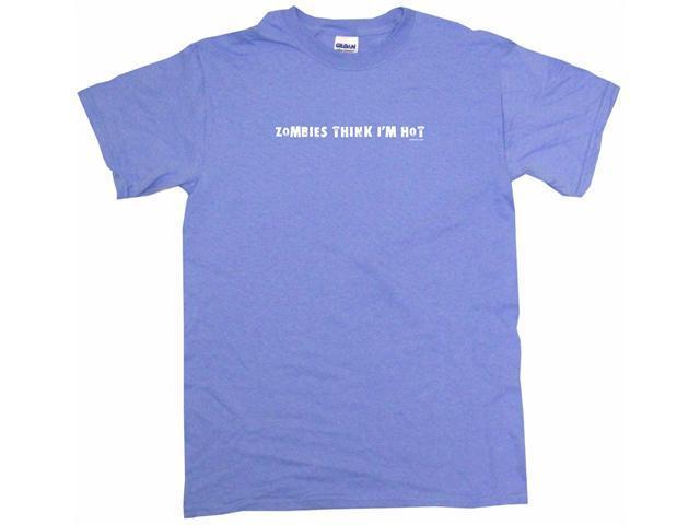 Zombies Think I'm Hot Men's Short Sleeve Shirt