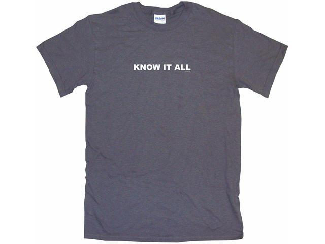 Know It All Men's Short Sleeve Shirt