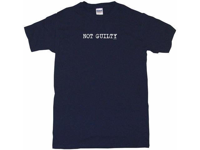 Not Guilty Men's Short Sleeve Shirt