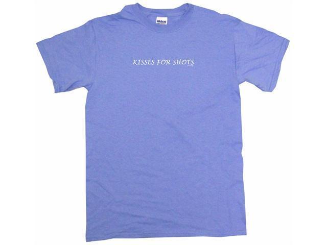 Kisses For Shots Men's Short Sleeve Shirt