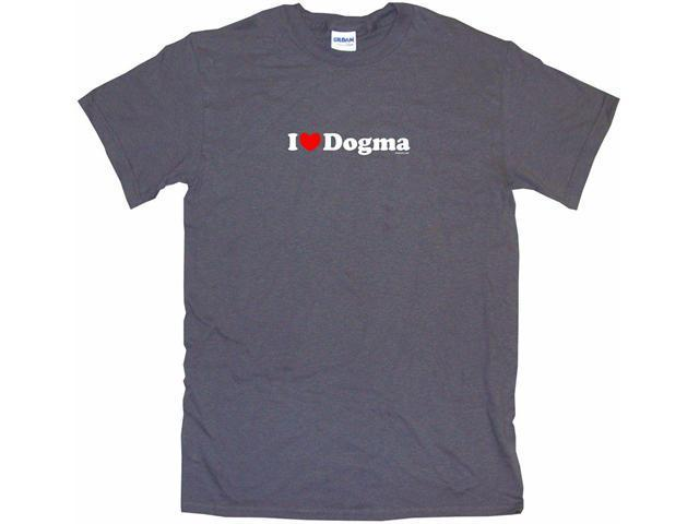 I Heart (Love) Dogma Men's Short Sleeve Shirt