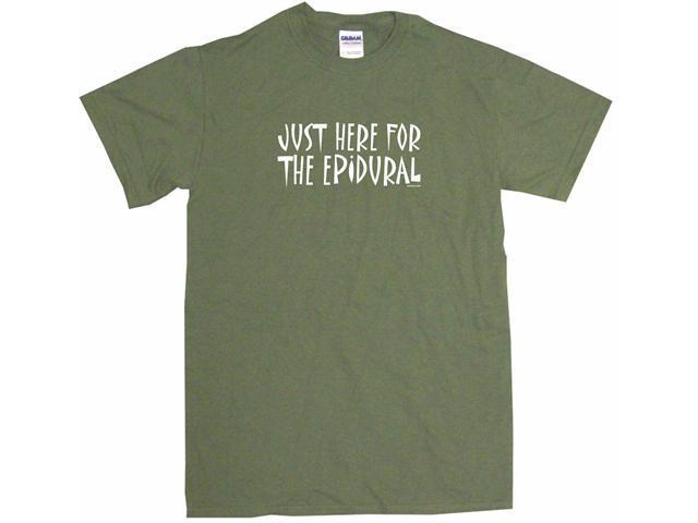 Just Here For The Epidural Men's Short Sleeve Shirt