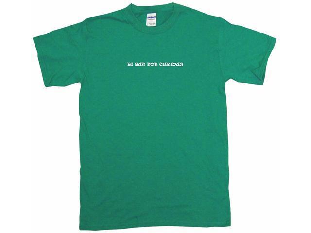 Bi But Not Curious Men's Short Sleeve Shirt