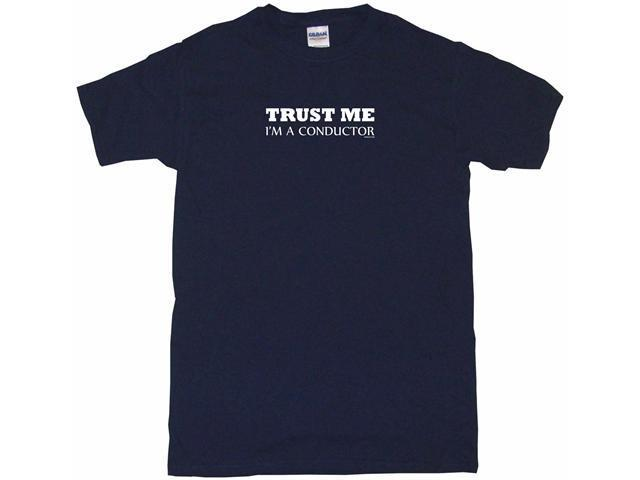 Trust Me I'm A Conductor  Men's Short Sleeve Shirt
