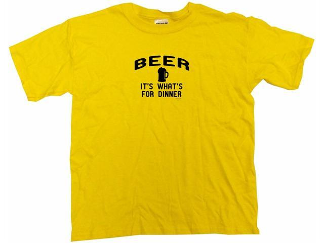 Beer It's Whats For Dinner Kids T Shirt