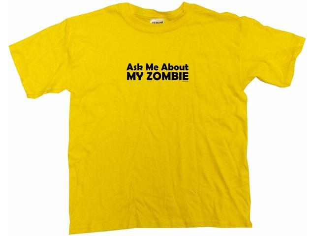 Ask Me About My Zombie Kids T Shirt