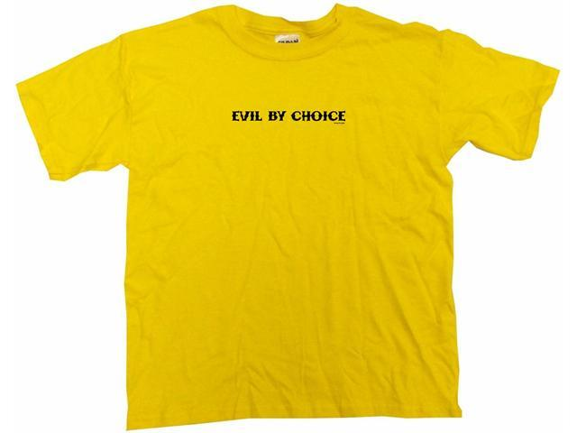Evil By Choice Kids T Shirt