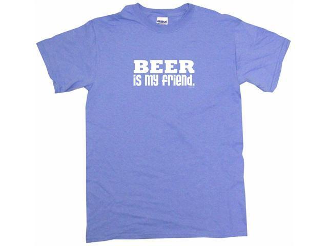 Beer Is My Friend Men's Short Sleeve Shirt