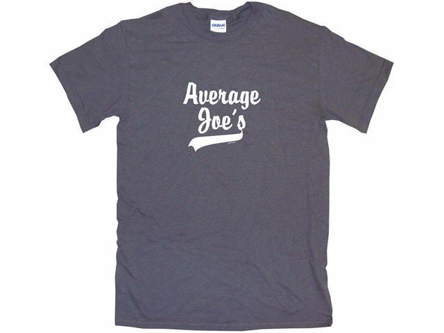 Average Joes Baseball Style Logo Men's Short Sleeve Shirt