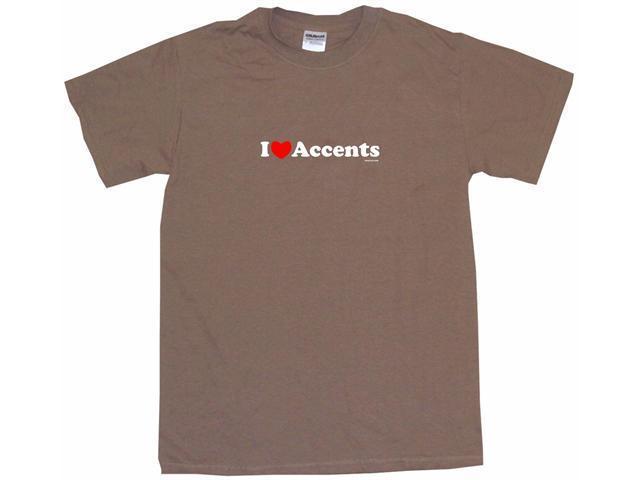 I Heart (Love) Accents Men's Short Sleeve Shirt