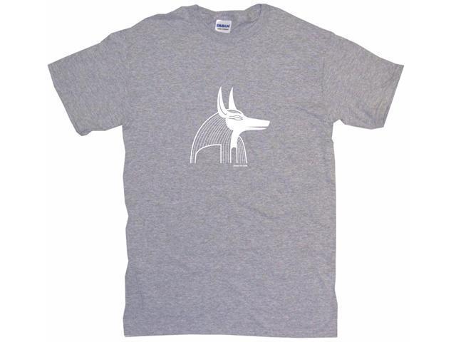 Egyptian Dog Anubis Symbol Logo Men's Short Sleeve Shirt