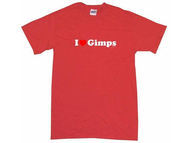 I Heart (Love) Gimps Men's Short Sleeve Shirt