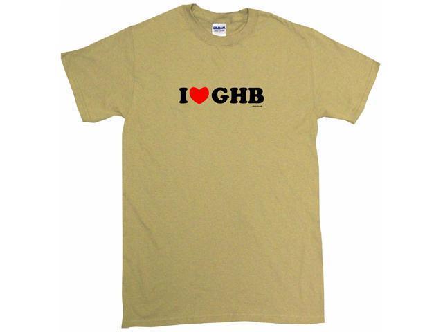 I Heart (Love) GHB Men's Short Sleeve Shirt