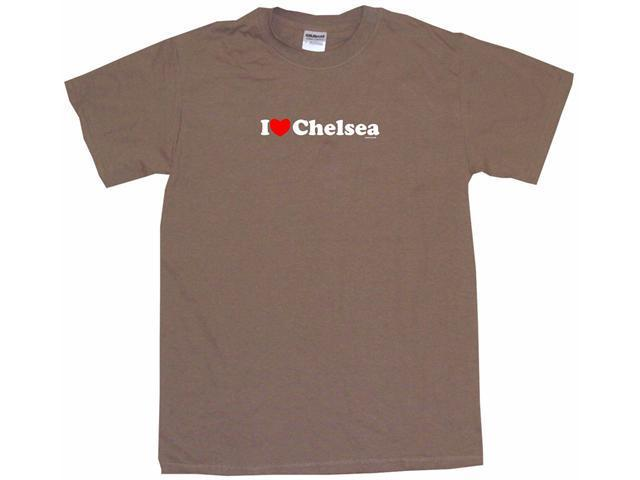 I Heart (Love) Chelsea Men's Short Sleeve Shirt
