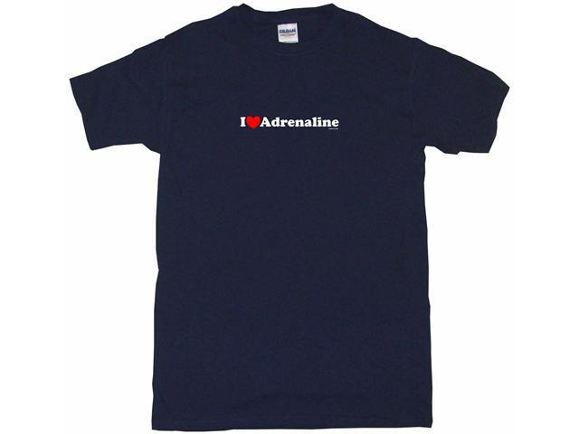 I Heart (Love) Adrenaline Men's Short Sleeve Shirt