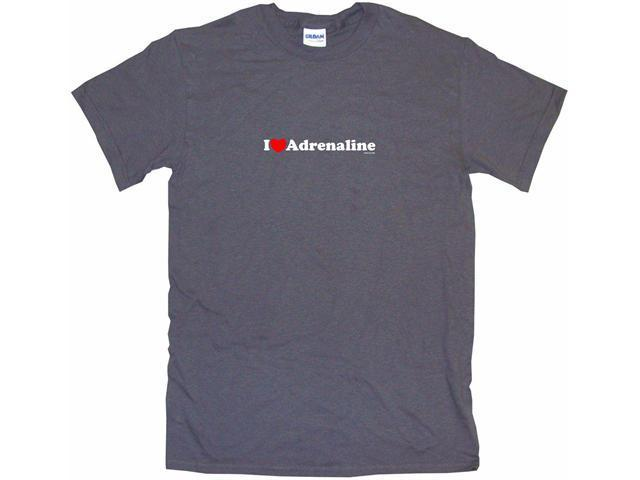 I Heart (Love) Adrenaline Men's Short Sleeve Shirt