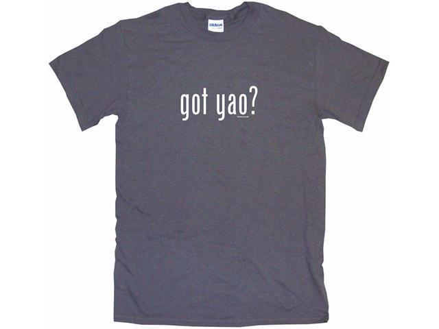 got yao? Men's Short Sleeve Shirt