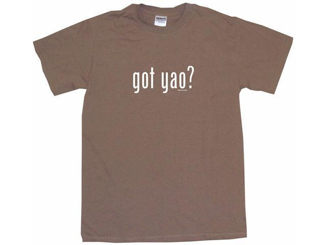 got yao? Men's Short Sleeve Shirt