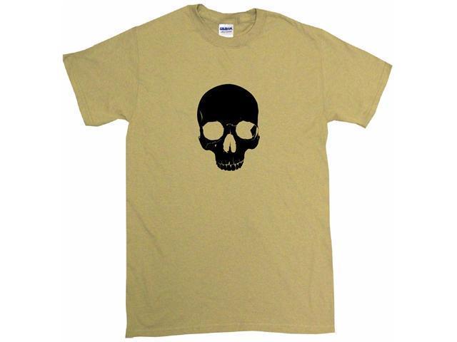 Gothic Half skull Men's Short Sleeve Shirt