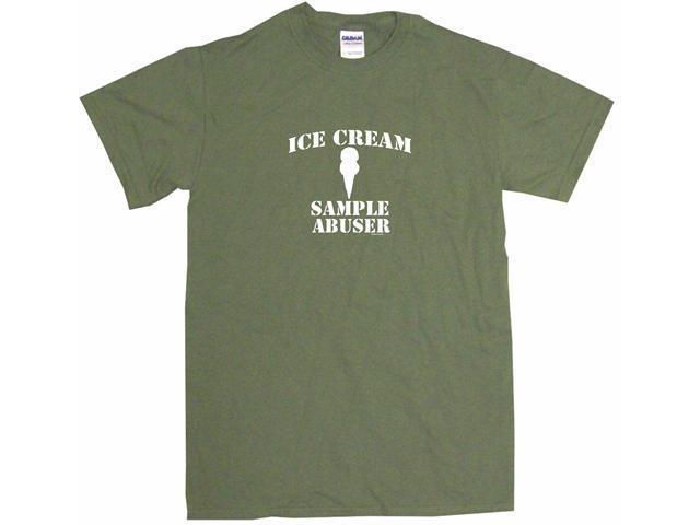 Ice Cream Sample Abuser Men's Short Sleeve Shirt