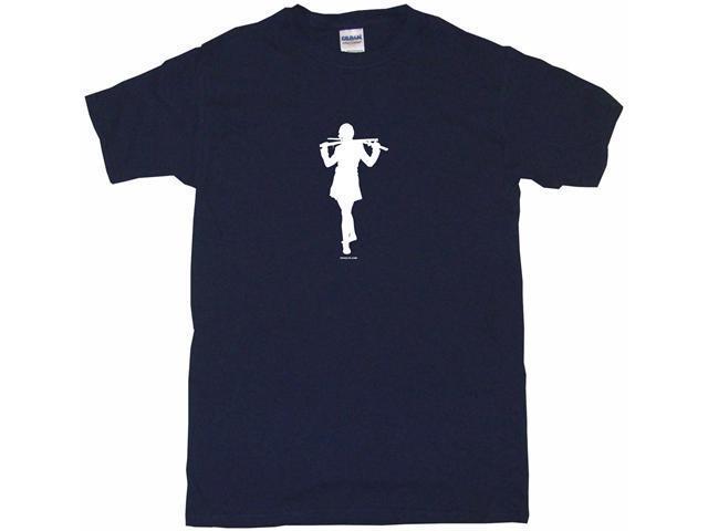 Ninja Girl With Sword Men's Short Sleeve Shirt