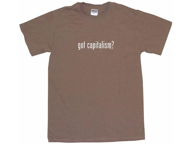 got capitalism? Men's Short Sleeve Shirt