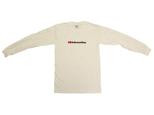 I Heart (Love) Adrenaline Men's Sweat Shirt