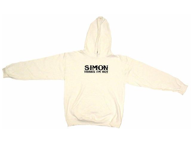 Simon Thinks I'm Hot Men's Hoodie Sweat Shirt